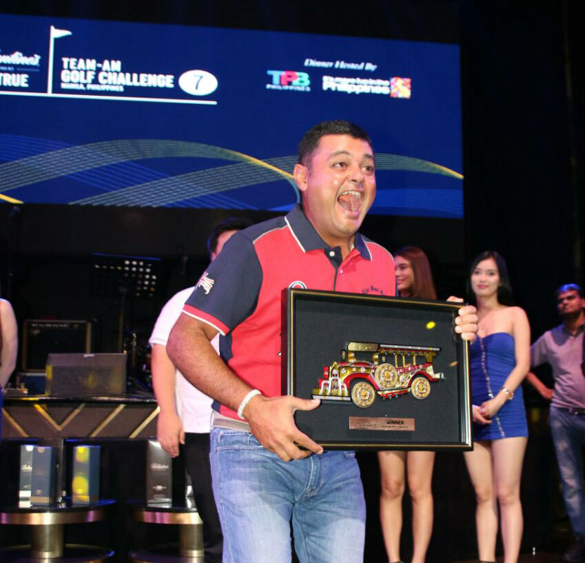 Mahendra Channaraj - winner net stableford