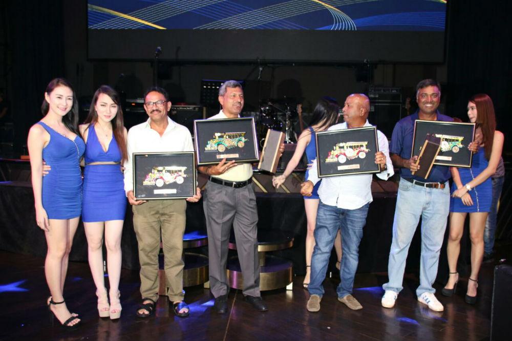 Ballantines Team Am Golf Challenge 7 Manila -Winning Team Ameya Charmers
