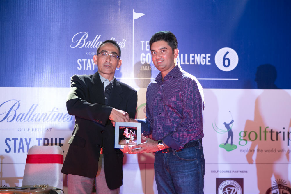 Akshay Kilachand Individual Gross Runner-Up Ballantines Team Am Golf Challenge 6 Jakarta