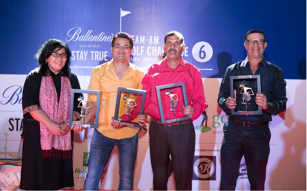 Loudmouth First Runner-Up Team Ballantine's Team Am Golf Challenge 6 Jakarta