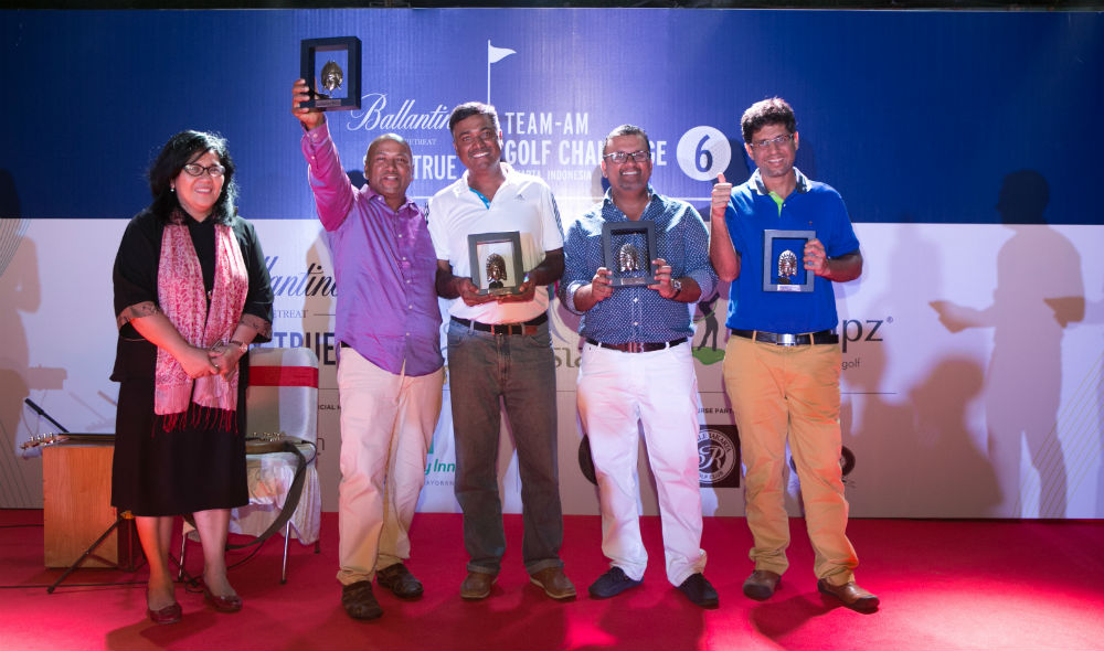 Quest Titans Second Runner-Up Team Ballantines Team Am golf challenge 6 Jakarta