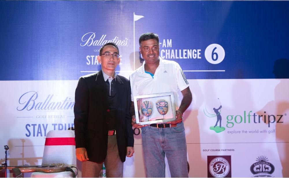 Ravikanth Konteti Overall Indivdual Net Winner 1000