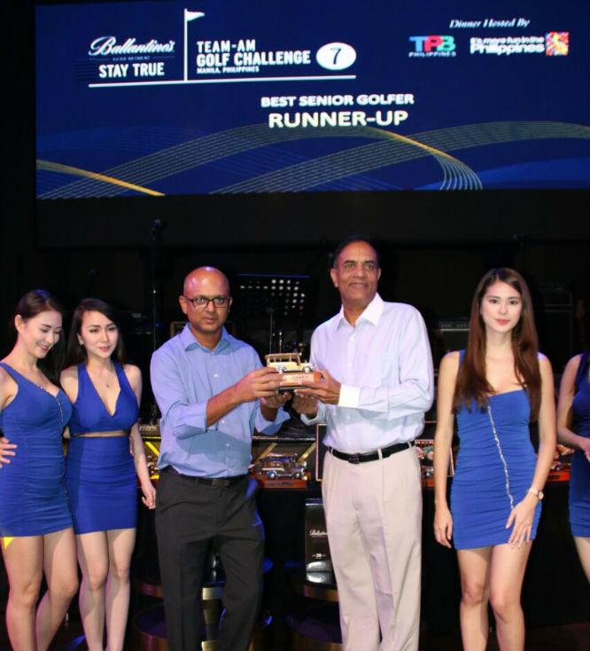 Senior Golfer - Runner Up - Prasad Rao K