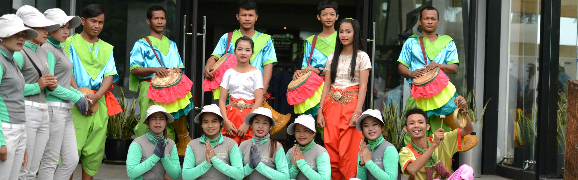 BTAGC-8-Siem-Reap-Traditional-Welcome-at-Angkor-Golf-Resort