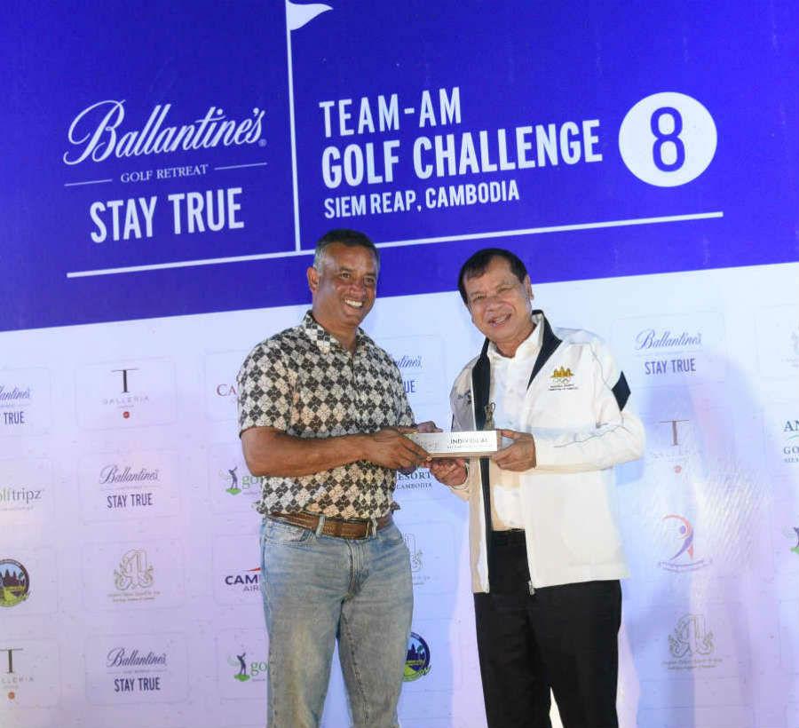 Overall Individual Net Stableford Runner Up - Avinash