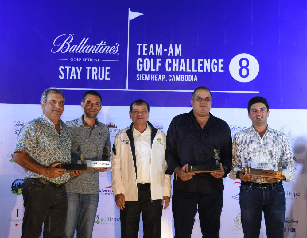 Winning Team - Awesome Foursome