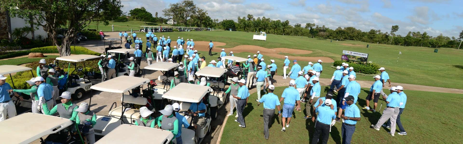 Ballantine's Team-Am Golf Challenge 8 in Siem Reap - Golfers Ready to Tee Off